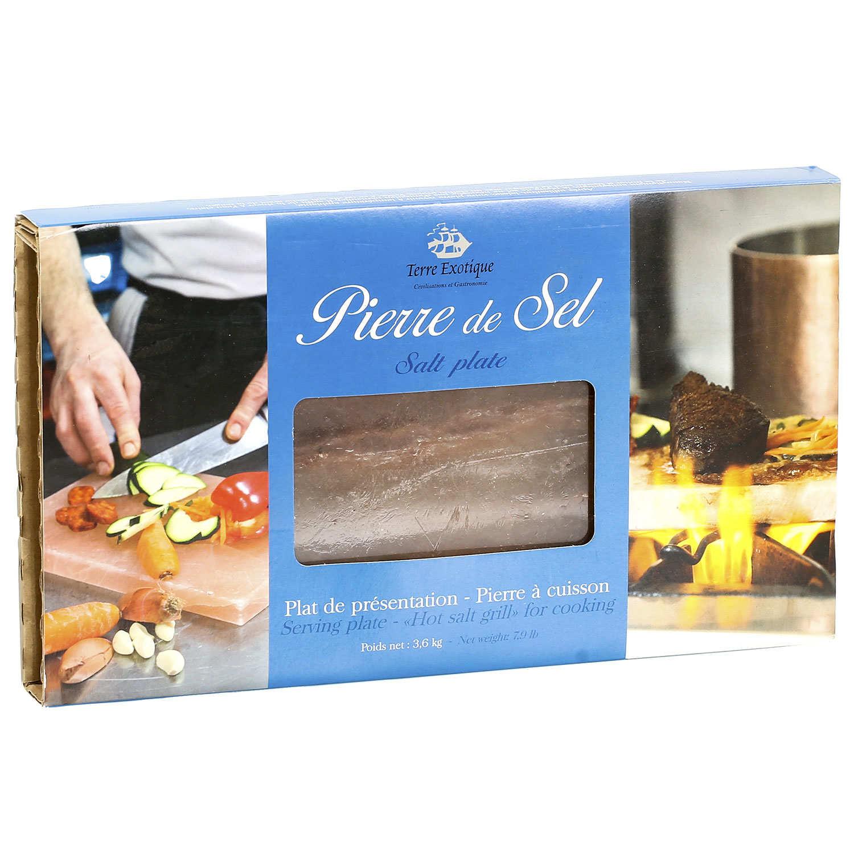 Salt Block for Cooking and Presentation