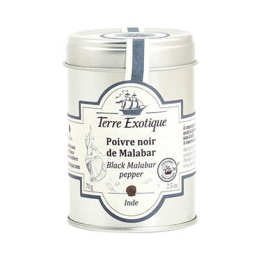 Malabar Black Pepper - 70g