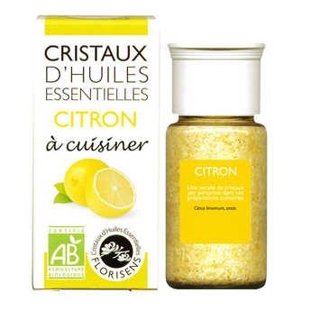 Aromandise - Citron - Cristaux d'huiles essentielles à cuisiner - Bio