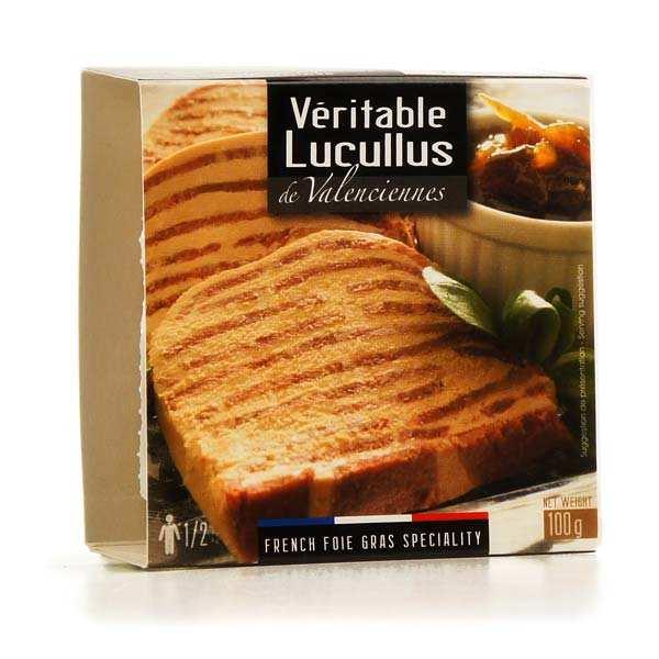 Véritable Lucullus de Valenciennes au foie gras