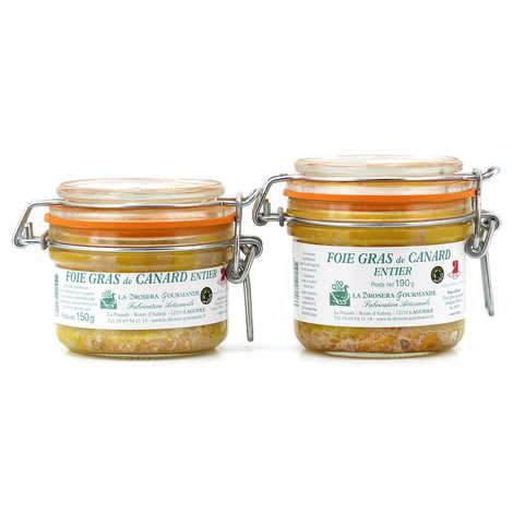 La Drosera gourmande - French Whole Duck Foie Gras
