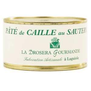 La Drosera gourmande - Pâté de caille au Sauternes