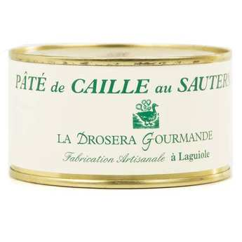 La Drosera gourmande - Sauternes Quail Pâté