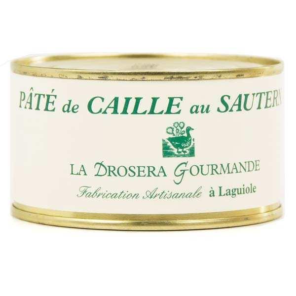 Sauternes Quail Pâté