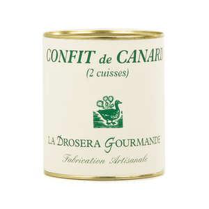 La Drosera gourmande - Confit de canard (cuisses)