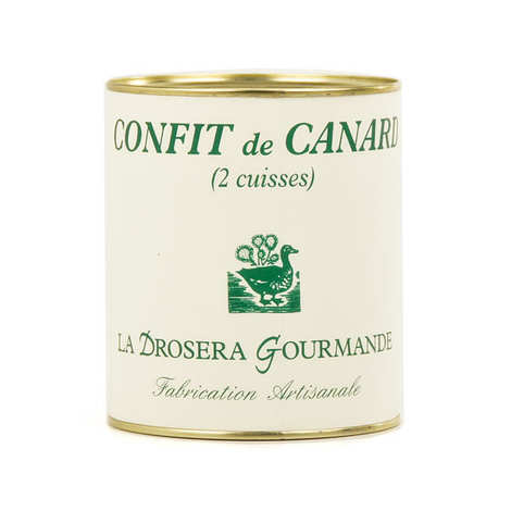 La Drosera gourmande - Confit de Canard (Traditional French duck confit)