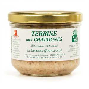 La Drosera gourmande - Chestnut Terrine