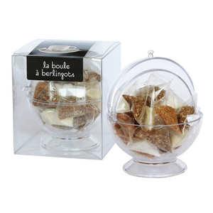 Zuk-Zak - La Boule à berlingot - 20 mini-berlingots sucre blanc et roux