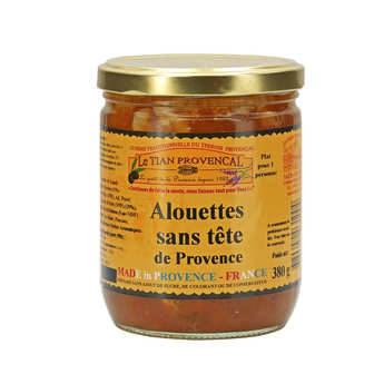 Conserverie Rizzo - Alouettes sans tête - Tradition Provence