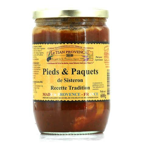 Conserverie Rizzo - Pieds et Paquets de Sisteron - Recette tradition
