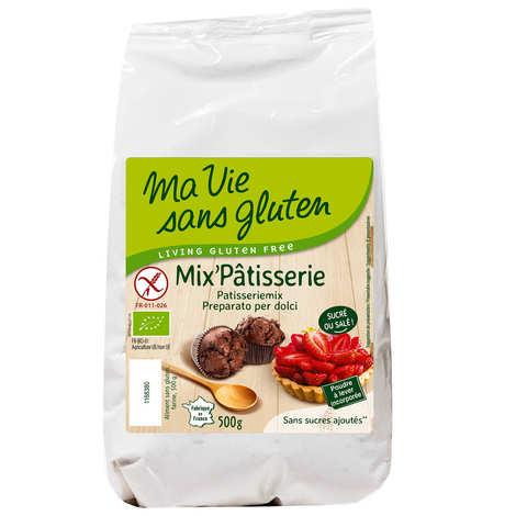 Ma vie sans gluten - Organic gluten-free patisserie mix