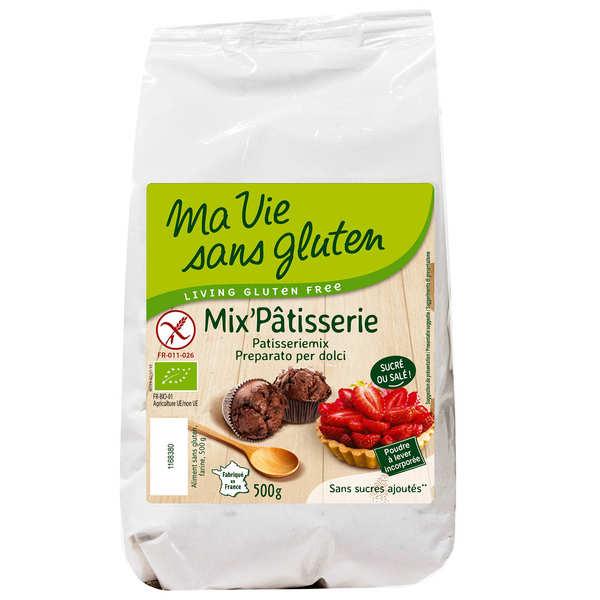Mix'pâtisserie bio - mix sans gluten pour pâtisserie