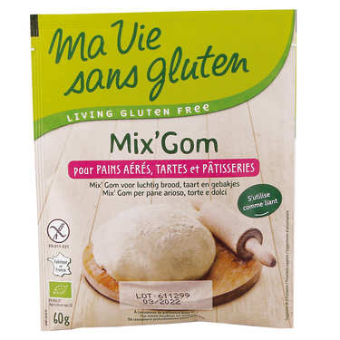 Mix'Gom organic gluten-free bread and patisserie mix