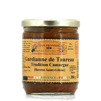 Conserverie Rizzo - Gardianne de Taureau - Recette Saint Giloise AOC blanc