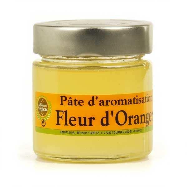 Pâte d'aromatisation fleur d'oranger pour pâtisserie et cuisine