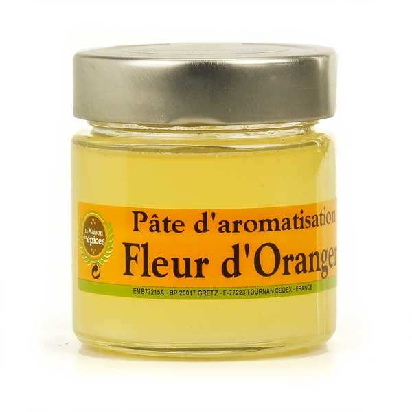 Orange blossom paste