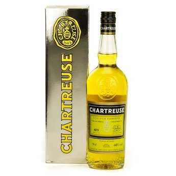 Les caves de la Chartreuse - Chartreuse jaune 40%
