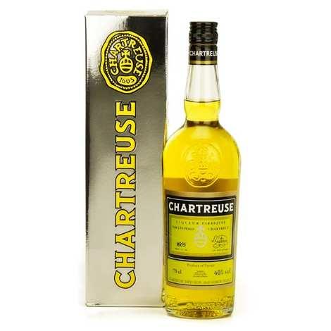 Les caves de la Chartreuse - Chartreuse jaune 43%