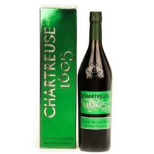 Les caves de la Chartreuse - Chartreuse 1605 - liqueur d'Elixir - 56%
