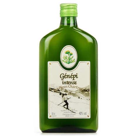 Les caves de la Chartreuse - Génépi des Pères Chartreux - cuvée intense - 40%
