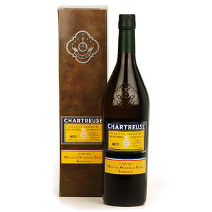 Les caves de la Chartreuse - Cuvée Chartreuse jaune Meilleur Ouvrier de France - 45%