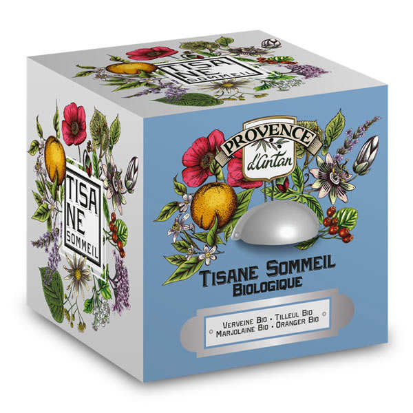 Organic Bedtime Tea from Provence