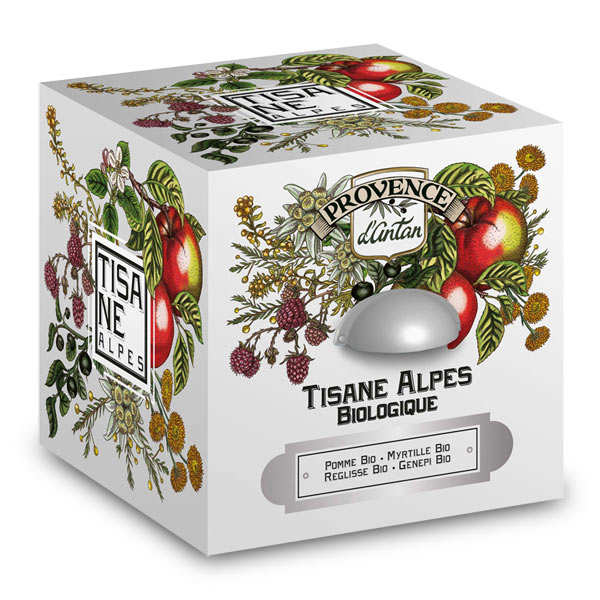 Organic Alpine Tea Blend from Provence