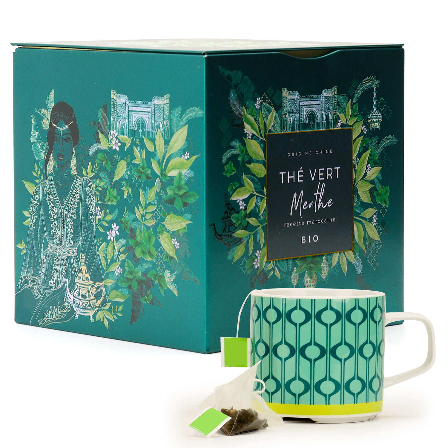 Organic Green Tea with Mint - Moroccan blend