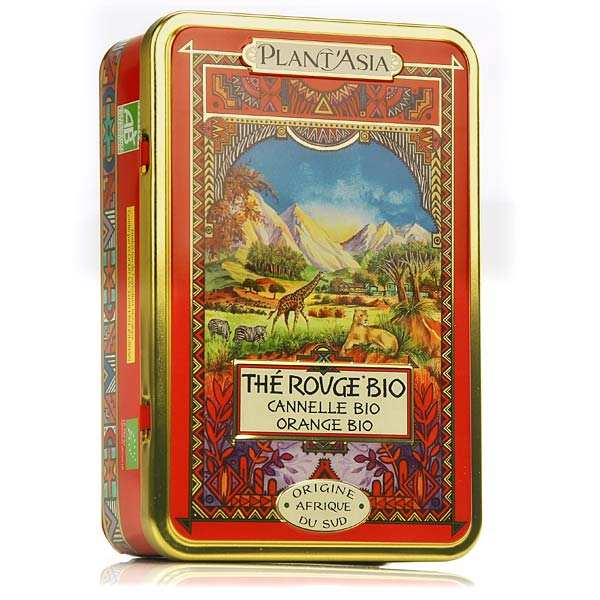 Organic Red Tea - cinnamon and orange