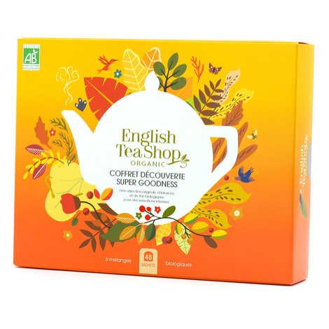 English Tea Shop - Coffret thés et créations bio Super Goodness