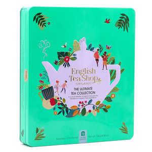 English Tea Shop - Coffret métal thés et infusions bio