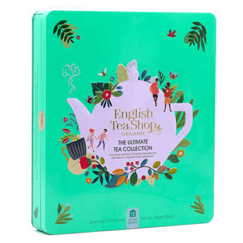 English Tea Shop - Coffret métal thés et infusions bio