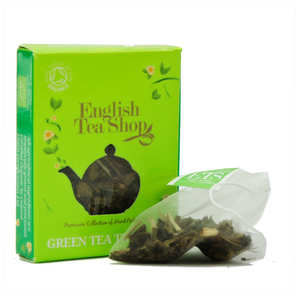 English Tea Shop - Organic Tropical Green Tea - individual sachet