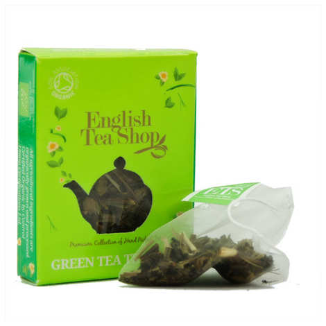 English Tea Shop - Thé vert tropical bio - sachet individuel