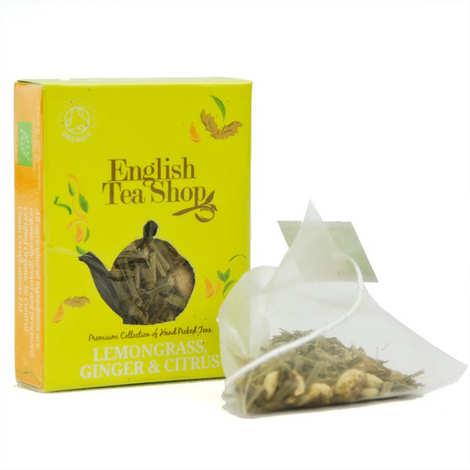 English Tea Shop - Infusion citronnelle, gingembre, agrumes - bio - sachet individuel