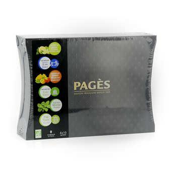 Pagès Thés et infusions - Coffret dégustation de thés biologique