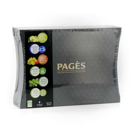 Pagès Thés et infusions - Case of Organic Teas by Pagès