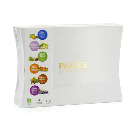 Pagès Thés et infusions - Organic Tea Selection by Pagès
