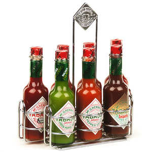 Mc Ilhenny - Tabasco brand - Tabasco McIlhenny co. gift set - 7 varieties in large bottles