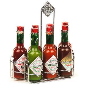 Mc Ilhenny - Tabasco brand - Coffret Tabasco McIlhenny.co - 7 variétés en grand format