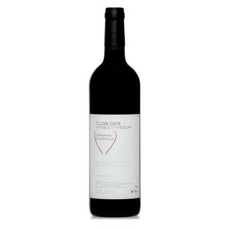 Clos des Vins d'Amour - Carignan en famille - IGP Côtes Catalanes 13% - Vin rouge