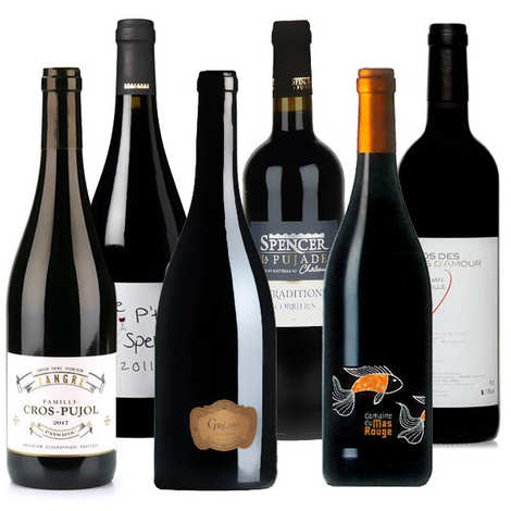 - Discovery offer - 6 red wines from Languedoc-Roussillon