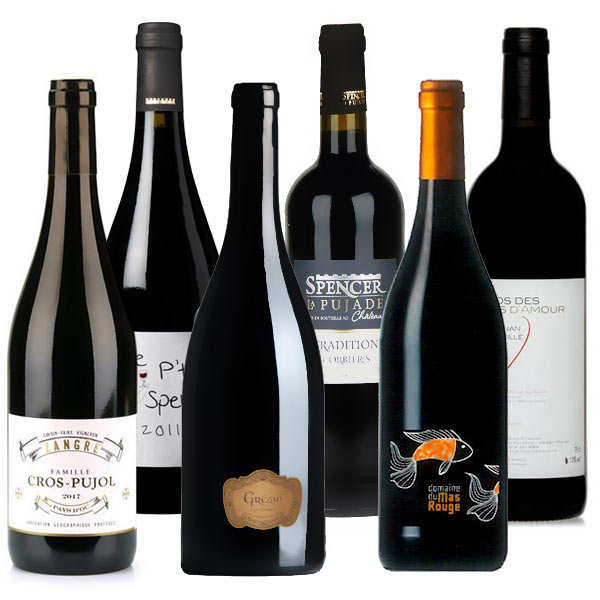 Discovery offer - 6 red wines from Languedoc-Roussillon