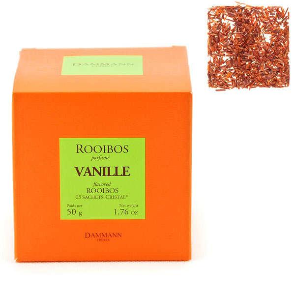 "Vanilla Rooibos tea in ""Cristal"" sachets by Dammann Frères"