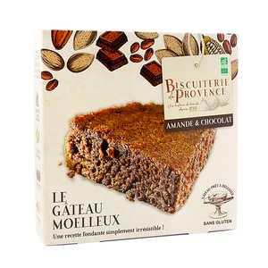 Biscuiterie de Provence - Délice de l'amandier – chocolat– gâteau sans gluten
