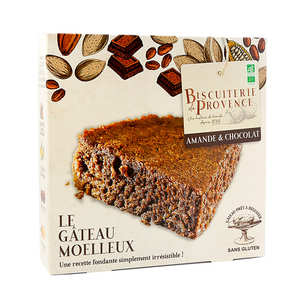 Biscuiterie de Provence - Délice de l'Amandier - gluten-free almond & chocolate cake