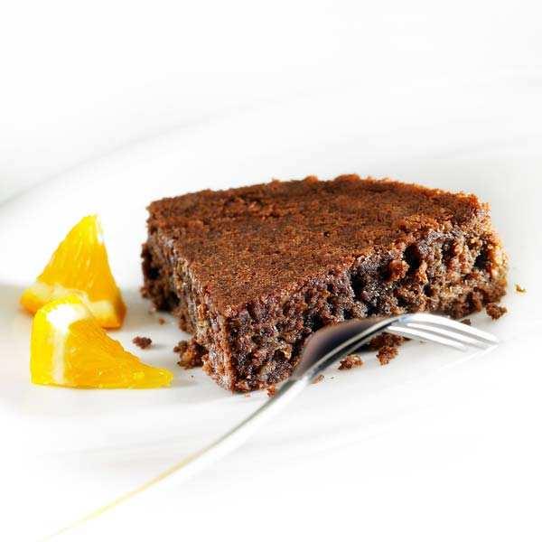 Délice de l'amandier chocolat– gâteau sans gluten