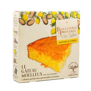 Biscuiterie de Provence - Délice de l'Amandier - gluten-free almond & lemon cake