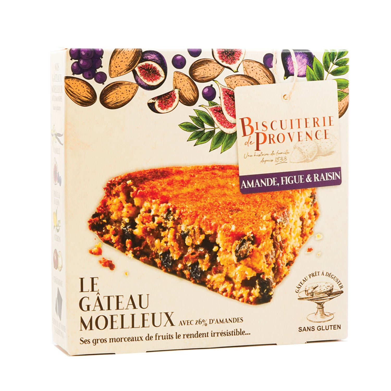 Délice de l'amandier figues et raisins – gâteau sans gluten