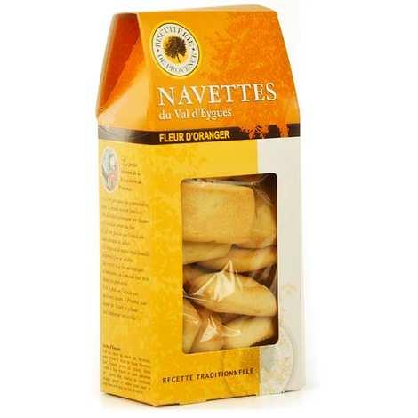 Biscuiterie de Provence - Navettes du Val d'Eygues à la fleur d'oranger